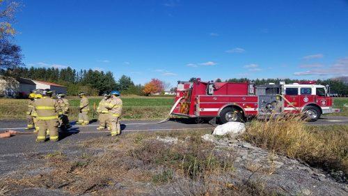 18 aspirants pompiers en formation!