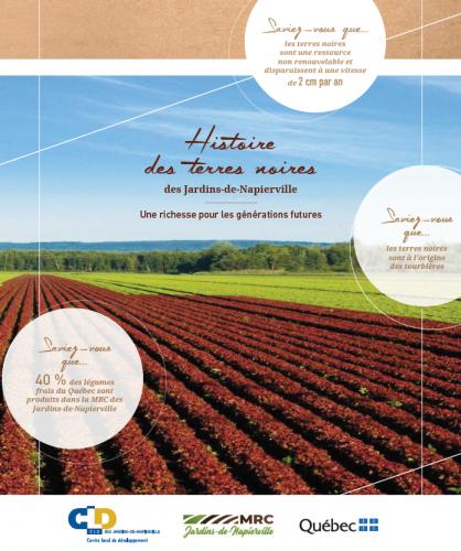 Le CLD des Jardins-de-Napierville publie sa brochure «Histoire des terres noires»