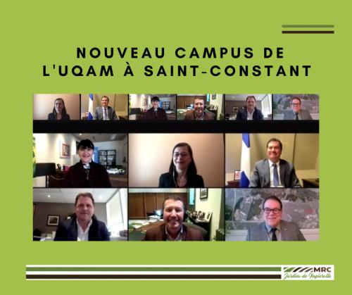 Nouveau campus de l'UQAM à Saint-Constant