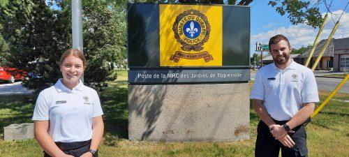 Les cadets de la Sûreté du Québec sont de retour
